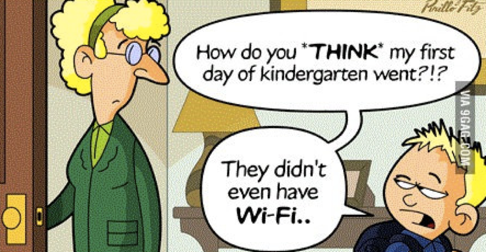 Wifi in Kindergarten